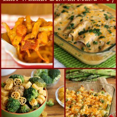 Easy Weekly Dinner Menu #67: Cinco de Mayo Recipes and More!