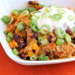 Taco Quinoa Turkey Skillet Dinner