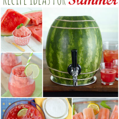 20 Watermelon Recipes and Ideas for Summer