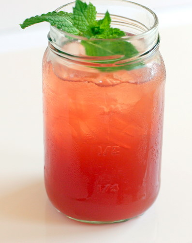 Watermelon Sweet Tea | The Runaway Spoon