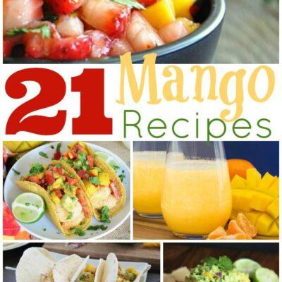 21 Mango Recipes