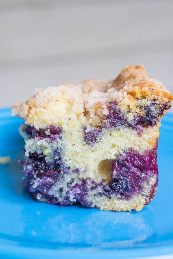 Lemon Blueberry Cornmeal Cake by Or Whatever You Do