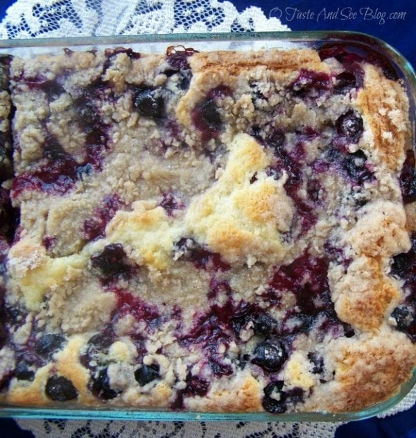 Blueberry Buckle by O Taste and See