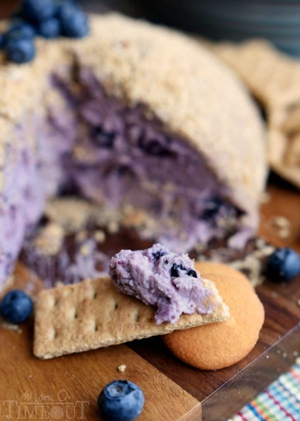 Blueberry Pie Cheeseball by Mom on Timeout
