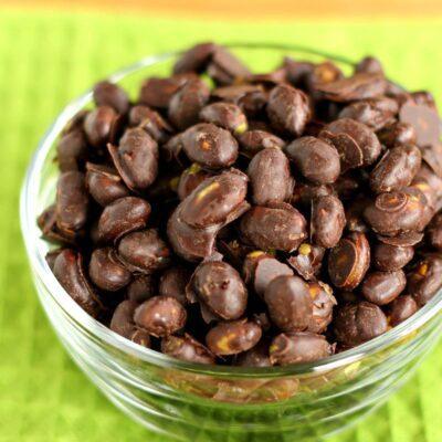 Chocolate Covered Edamame {Trader Joe's Copycat}
