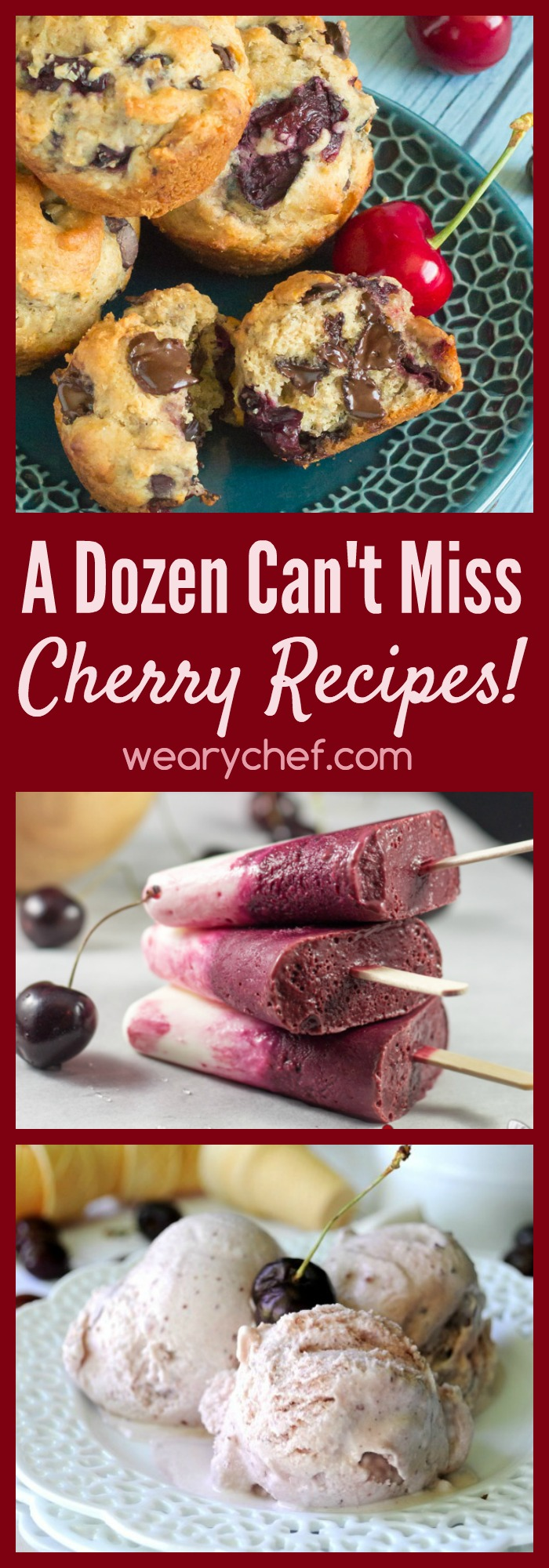 From pies and tarts to cocktails and ice cream, you don't want to miss this list of cherry recipes!