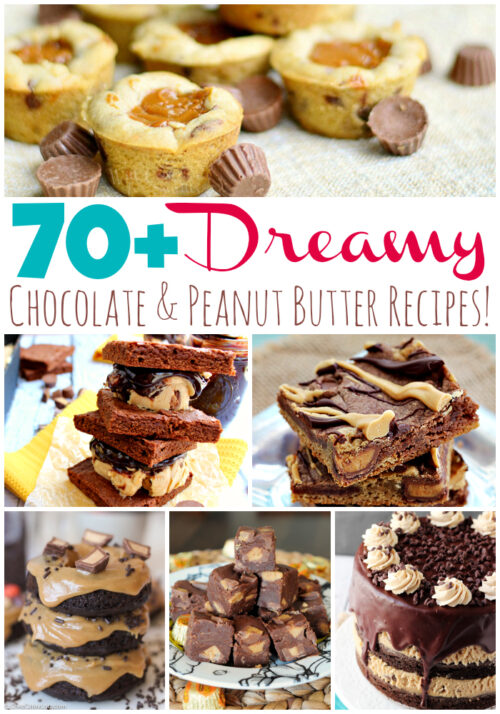 Over 70 Dreamy Chocolate and Peanut Butter Recipes - wearychef.com