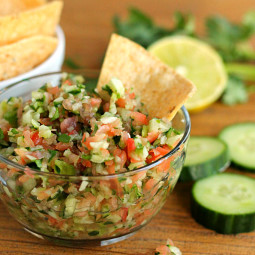 Cucumber Salsa: Perfect for Fish Tacos!