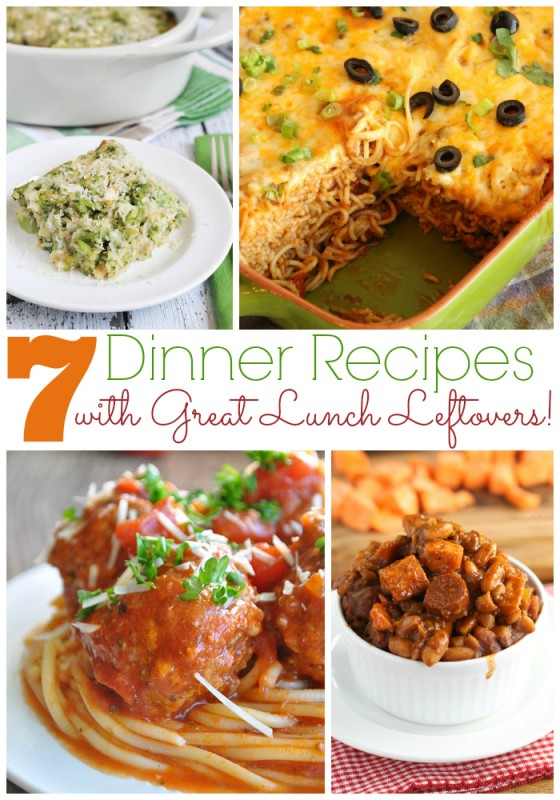 7 Dinner Recipes with Great Lunch Leftovers for #DixieQuicktakes - wearychef.com