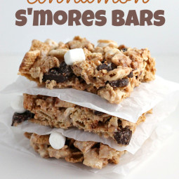 No-Bake Gluten-Free Cinnamon S'mores Bars and Food Holidays