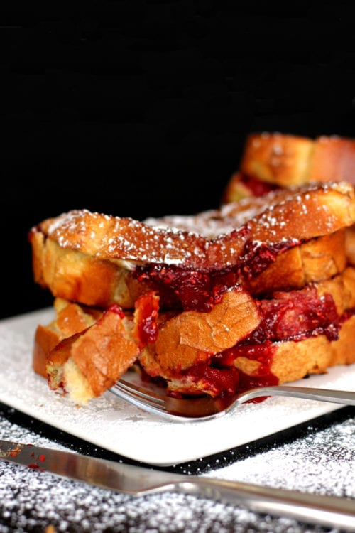 Sangria Stuffed French Toast by Melanie Makes