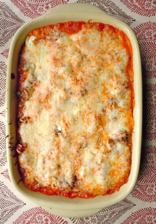 Sausage Lasagna by Maebells - Featured at wearychef.com