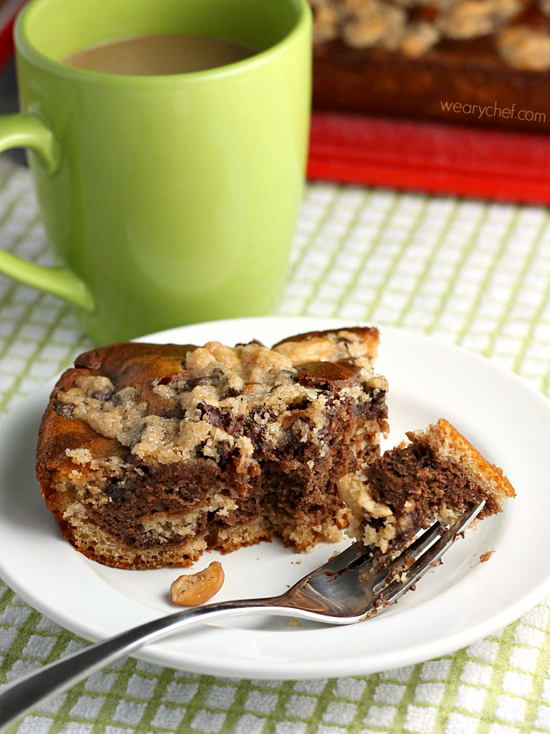 Applesauce Coffee Cake With Crumb Topping