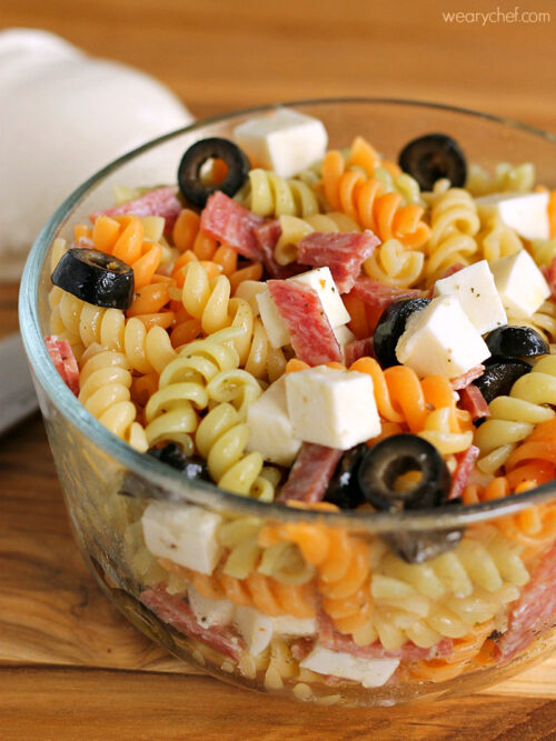 Pizza Pasta Salad - Get an easy lunch box recipe and #HydrationEducation from @VitaCocoKids!