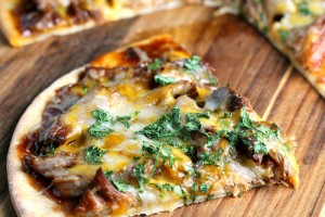 Slow Cooker Pork BBQ Pizza