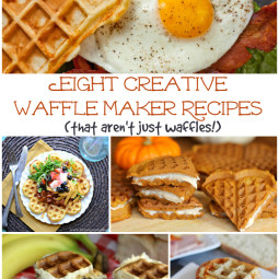 8 Creative Waffle Maker Recipes That Aren't Just Waffles