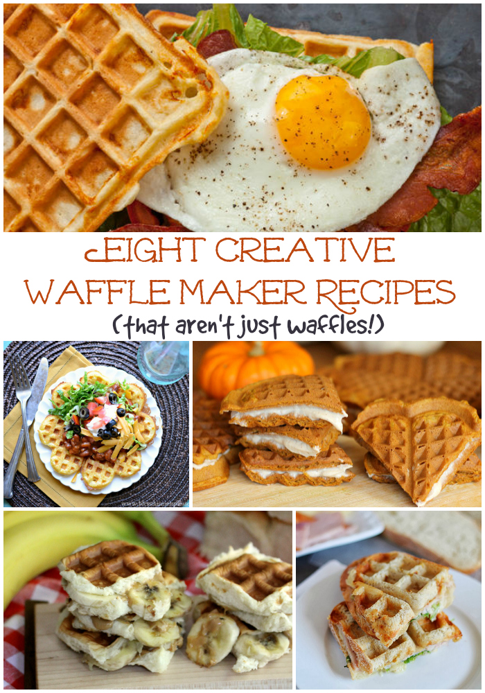 8 Creative Waffle Maker Recipes That Aren T Just Waffles