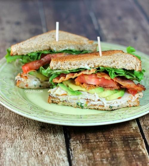 California Club Sandwich | Emily Bites