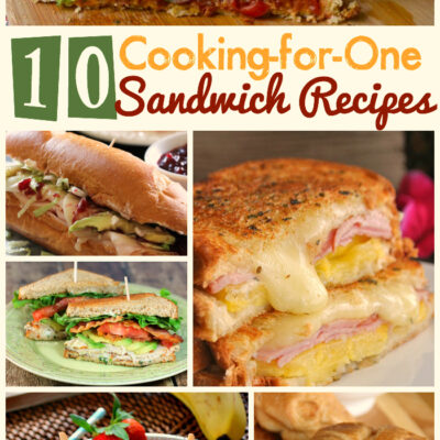10 Sandwich Recipes Perfect for Cooking for One!