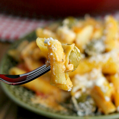 One-Pot Mediterranean Pasta