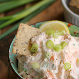 Smoked Salmon Cream Cheese Dip or Spread