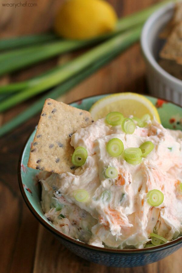 Smoked Salmon Cream Cheese Dip or Spread - This easy dip is just right for crackers, bagels, or toast!
