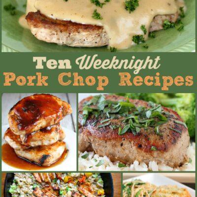 10 Weeknight Pork Chop Recipes