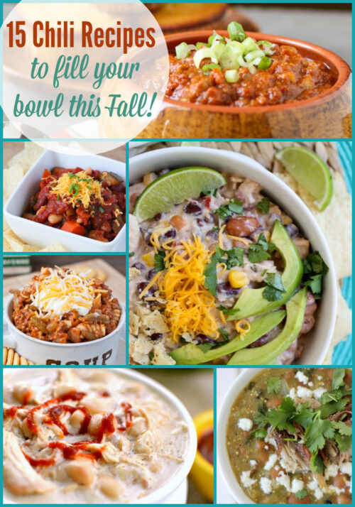 There are so many wonderful chili recipes to try this fall and winter, and today I'm sharing 15 of my favorites with you! - wearychef.com