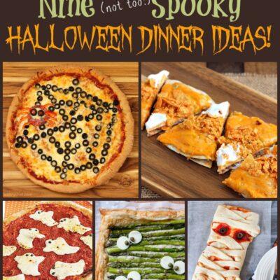 Fun Halloween Dinner Ideas