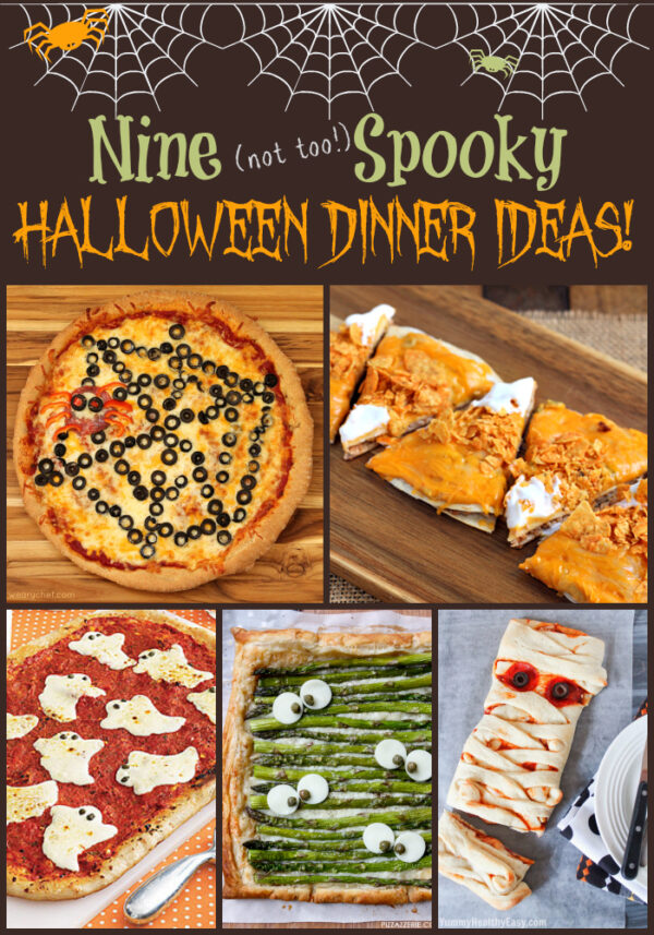 9 Halloween Dinner Ideas - wearychef.com