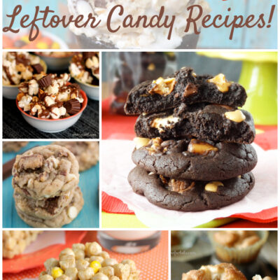 10 Leftover Candy Recipes