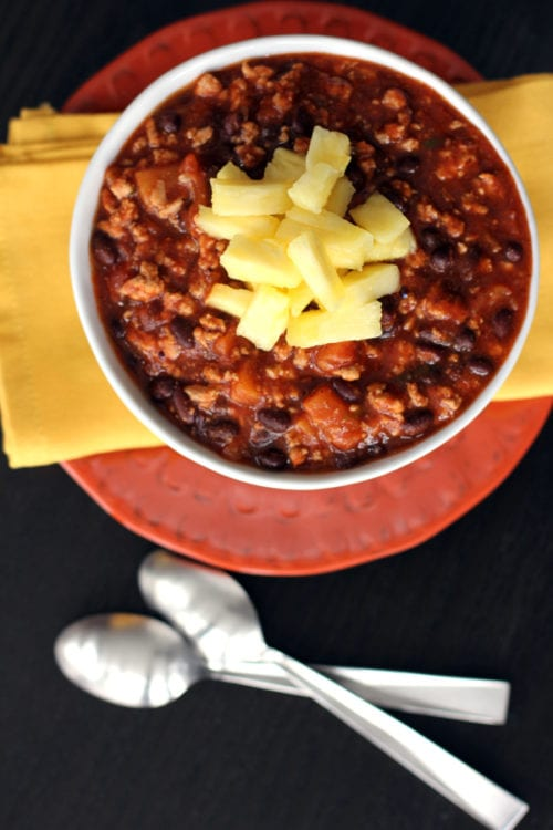 Pineapple Pork Chili | Melanie Makes