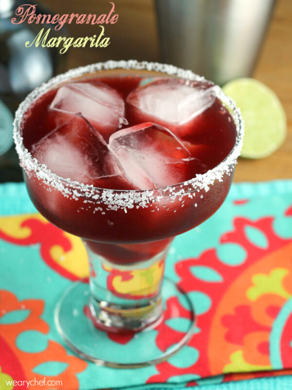 Pomegranate Margarita Recipe: Pomegranate Margarita And Day Of The Dead Dinner Ideas
