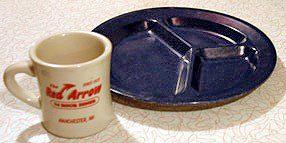 Classic Blue Plate Special Plate - wikipedia.com