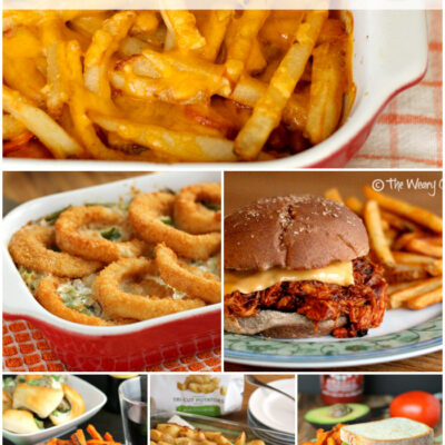 Easy Family Dinner Ideas Made with Frozen Fries! #farmtoflavor