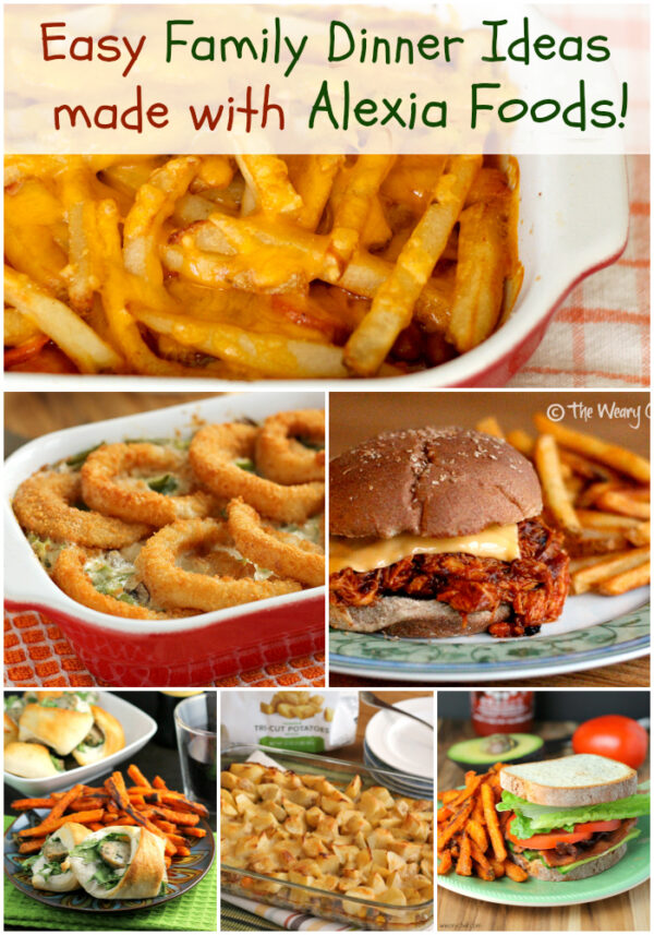 Easy Family Dinner Ideas Made With Frozen Fries Farmtoflavor