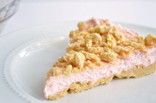 No-Bake Strawberry Lemon Cheesecake   House of Yumm