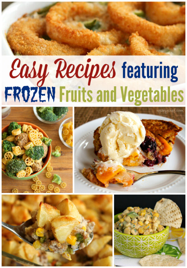 Come see how convenient it is to use frozen fruits and vegetables with this collection of tasty, easy recipes!
