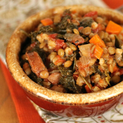 Healthy Sausage and Kale Soup