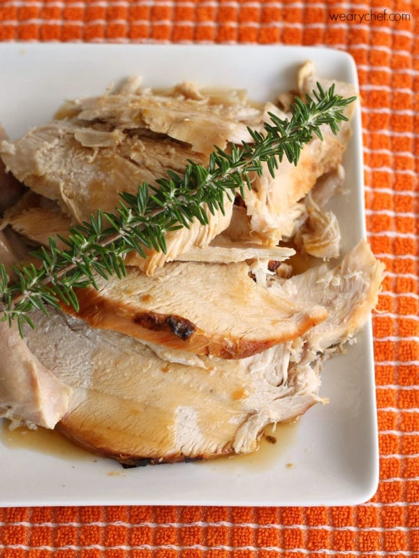 How to Cook a Frozen Turkey Without Thawing #JennieO