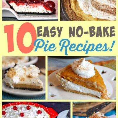 Easy No-Bake Pie Recipes