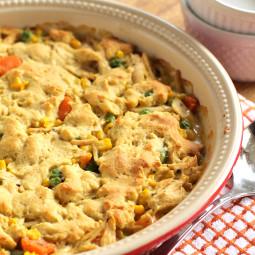 Quick Chicken Pot Pie in 30 Minutes!