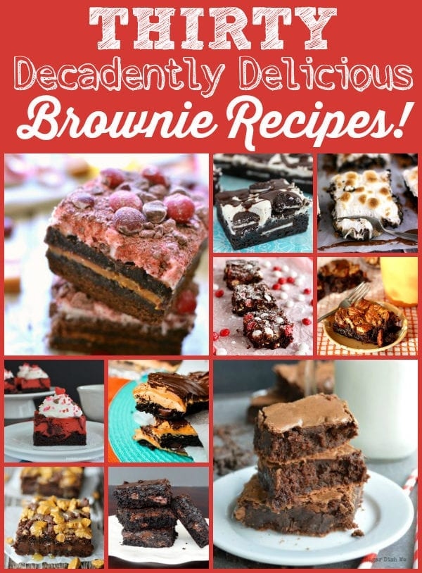 Look no further for delicious brownie recipes than this collection from talented food bloggers!