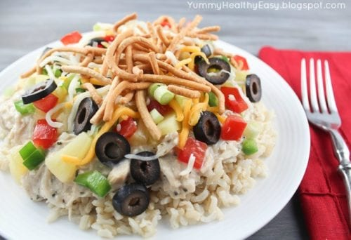 Hawaiian Haystacks | Yummy Healthy Easy