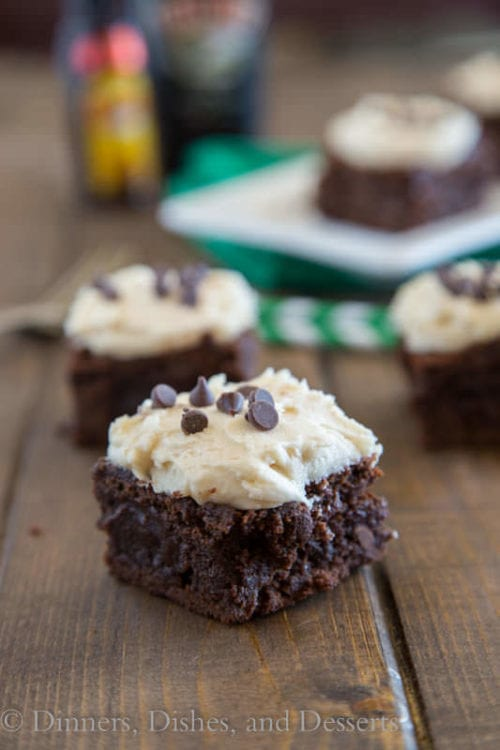 Mudslide Brownies by Dinners, Dishes and Desserts