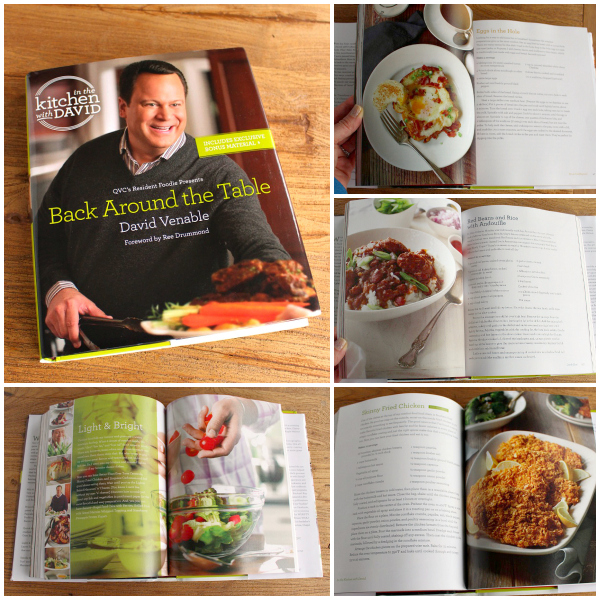 The Weary Chef reviews David Venable's new cookbook: Back Around the Table!