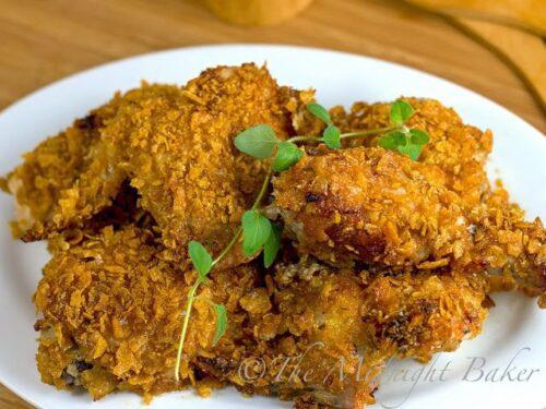 Crispy Cajun Chicken | The Midnight Baker