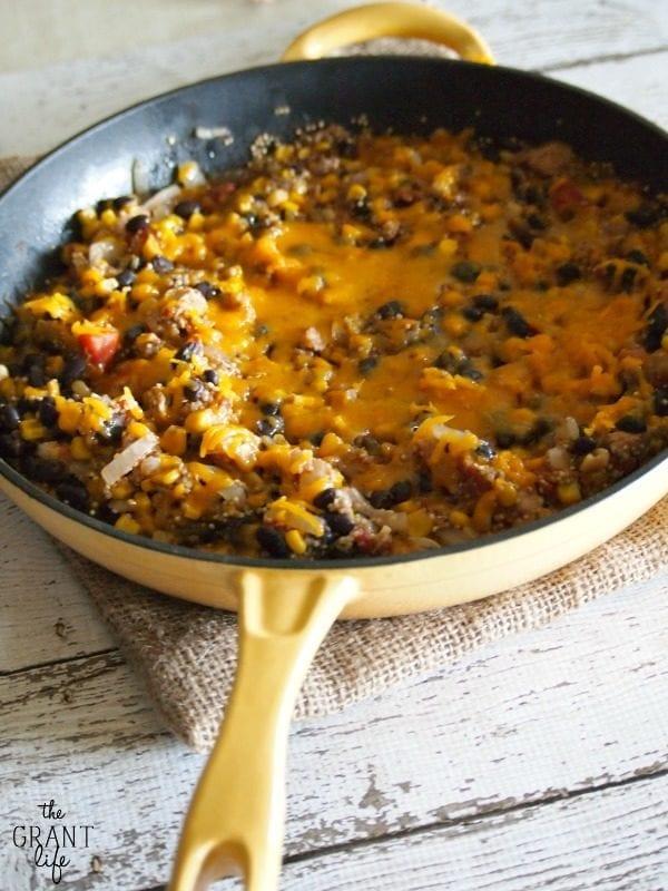 Chipotle Quinoa Skillet | The Grant Life