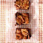 Gluten Free Pecan Pie Brownies