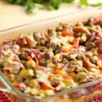 Sausage Fajita Breakfast Casserole